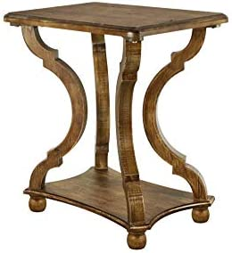 FINECASA Wooden Side Table