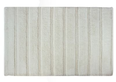 picture of Sherry Kline Frameloom Loop Bath Rug; White