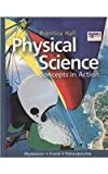 High School Physical Science: Concepts in Action Se, Wysession and Prentice HALL, 0133628175
