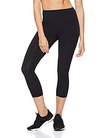 Lorna Jane Women's Booty Support 7/8 Tight, Black, XS