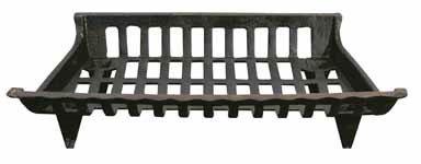 (Panacea 15424 Cast Iron Fire Grate, Black,)