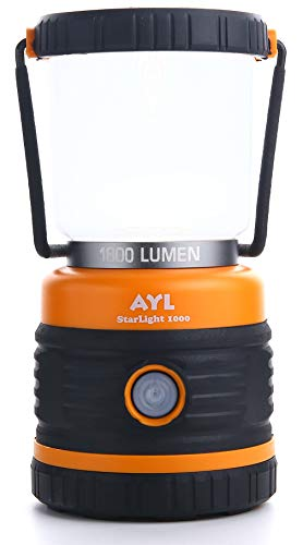 LED Camping Lantern, Battery Powered LED with 1800LM, 4 Light Modes, Perfect Lantern Flashlight for Hurricane, Emergency Light, Storm, Power Outages, Survival Kits, Hiking, Fishing, Home and More