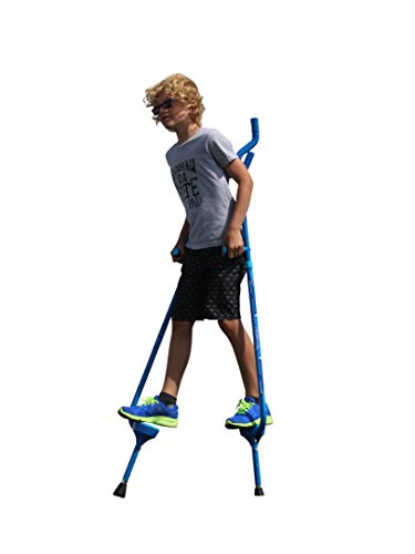 Flybar Master Walking Stilts for Kids Ages 10 +, Weights Up to 200 Lbs - Adjustable Height with Foam Handles & Shoulder Rests - Fun Outdoor Toys for Girls & Boys]()