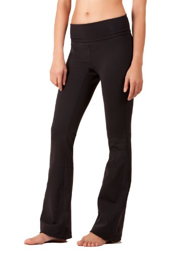 5102-BK-X-35 Everyday Yoga Pants, Black,X-Large