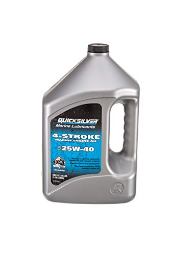 QuickSilver 8M0078620 FC-W 4-Stroke 25W-40 Marine Engine Oil