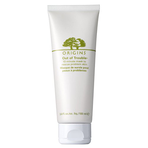 Problem Skin Mask (ORIGINS Out of Trouble 10 Minute Mask to Rescue Skin Problem, 3.4 Fluid Ounce)