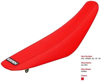 All Red Enjoy MFG Standard Seat Cover for Honda CR 125//250 Later Models