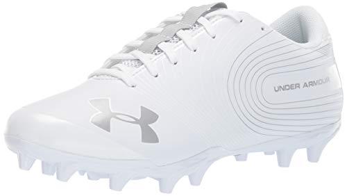 Under Armour Men's Speed Phantom MC Football Shoe, White/White, 8.5 M US