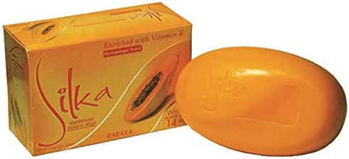 Silka Papaya & Herbal Soap 6 X 135G by SILKA