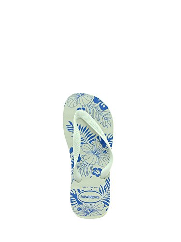 White blue Havaianas Homme Tongs Star Aloha BnRcnW
