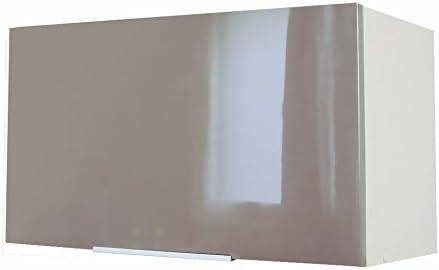 White Blanc Haute Brillance 60 x 33 Berlenus CH6HB Lift-Up Wall Cabinet