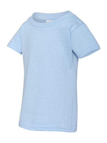 Gildan Todler Boy's Heavy Cotton™ 5.3 oz. T-Shirt, Light Blue, 3T