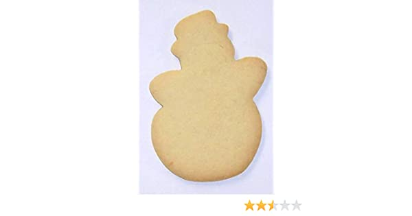Scott S Cakes Undecorated 5 Christmas Snowman Sugar Cookies