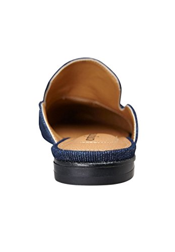 Comfortview Womens Wide Cecilia Mules Denim