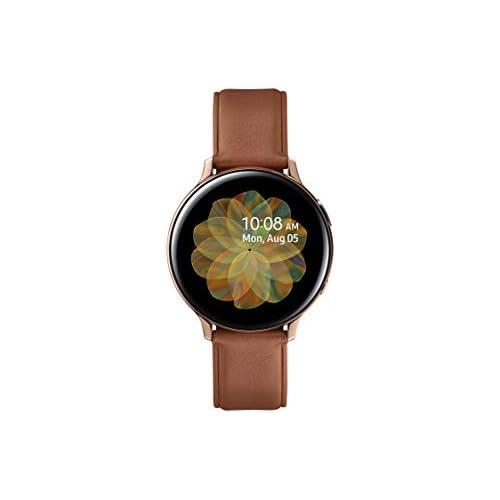 chollos oferta descuentos barato SAMSUNG Galaxy Watch Active 2 SM R830NSKAPHE Smartwatch de Acero 40 mm color Oro Rosa Bluetooth Versión española 40 mm