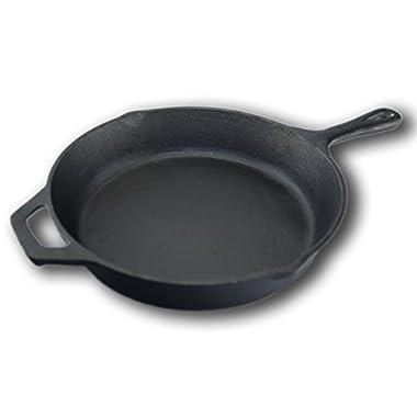 A1 Chef Pre-seasoned Cast Iron Skillet - 10.25 Inch