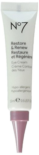 Contouring Eye System - No7 Restore & Renew Eye Cream