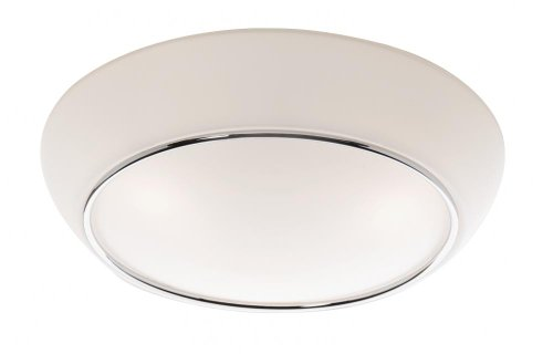 (Artcraft Lighting Flushmount 3-Light Flush Mount Light, Chrome)