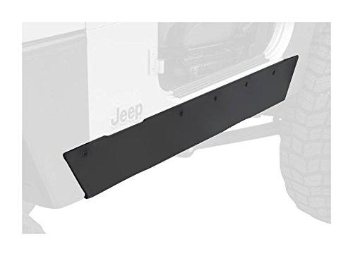 Smittybilt 76870 XRC Rock Sliders, 97-06 TJ Wrangler Textured Black