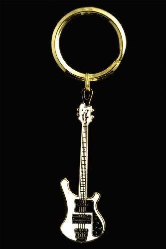Amazon.com  Electric Bass Guitar Key Chain - White  Musical Instruments cde2e13e3