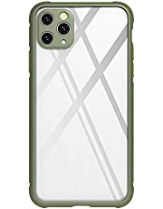 Designed for i12 Pro 6.1inch Protective Magnetic Ring Bracket TPU Shockproof Rugged Hard Protective Case Cover, Lay-on Table Design for iPhone 12 Pro 6.1inch … (Green)