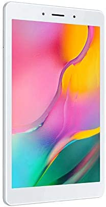 "Samsung Galaxy Tab A 8.0"" (2019, WiFi + Cellular) 32GB, 5100mAh Battery, 4G LTE Tablet & Phone (Makes Calls) GSM Unlocked SM-T295, International Model (32 GB, Silver)"