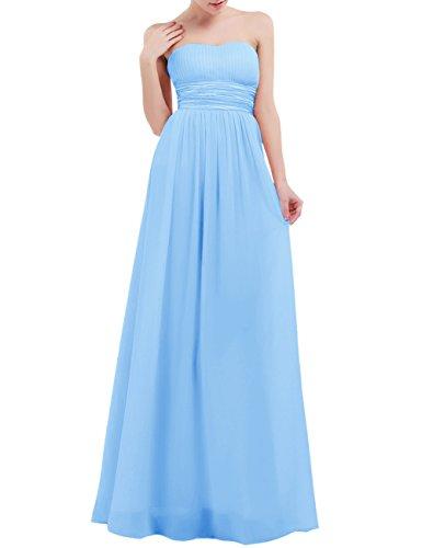 light blue maid dress - 9