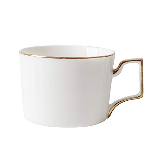 - Set of Cappuccino Cup and Saucer Drinking Cup,Simple Durable Office Porcelain 8 Ounce Capacity to Choose Specialty Coffee Drinks, Latte, Cafe Mocha (pure White, 1)