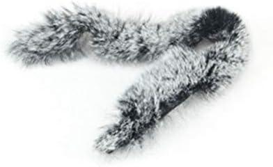1ペアアーチェリー弓スタビライザー弓文字列衝撃吸収毛皮レックスウサギの髪シェイクアブソーバー
