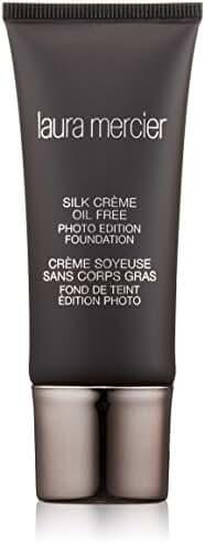 Laura Mercier Silk Creme Oil-free Photo Edition for Women Foundation, Cashew Beige, 1 Ounce