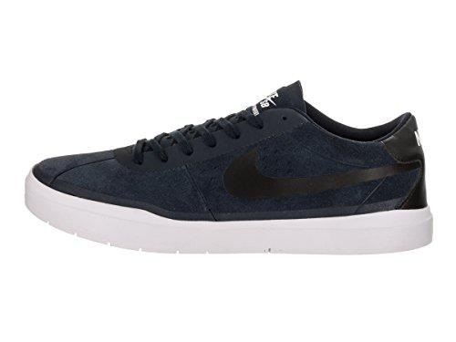 Nike Hombres Bruin Sb Hyperfeel Zapato Skate Obsidian / Black / White