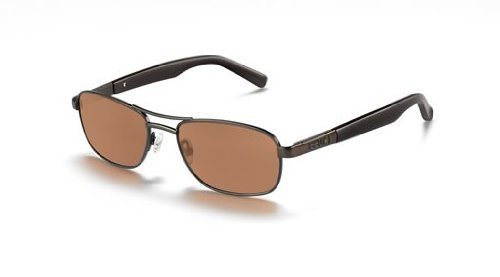- Bolle Avenue Sunglasses, Satin Brown with Polarized A-14 Lens