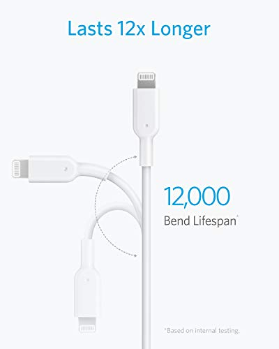 iPhone 11 Charger, Anker USB C to Lightning Cable [6ft Apple MFi Certified] Powerline II for iPhone 11/11 Pro / 11 Pro Max/X/XS/XR/XS Max / 8/8 Plus, Supports Power Delivery