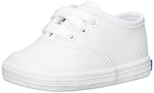 Keds Champion Lace Toe Cap Sneaker (Infant/Toddler),White,2 Infant M (Girls Shoes Infant Keds)