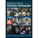 Introduction to Political Psychology (2nd, 10) by Cottam, Martha L - Dietz-Uhler, Beth - Mastors, Elena - Presto [Paperback (2009)]