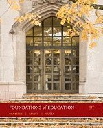 Foundations of Education [[11th (eleventh) Edition]] pdf epub