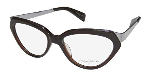 Yohji Yamamoto Yy1011 Womens/Ladies Cat Eye Full-rim Elegant Fabulous Fancy Eyeglasses/Eye Glasses (52-16-140, Brown Fade) (52 16 140 Brille)