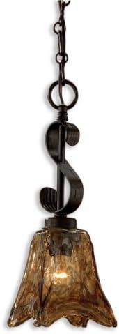 Uttermost 21801 Vetraio Mini Pendant 15 , Bronze