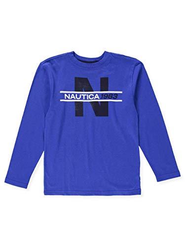 Shirt Nautica L/s (Nautica Big Boys' L/S T-Shirt - Cobalt, 14-16)