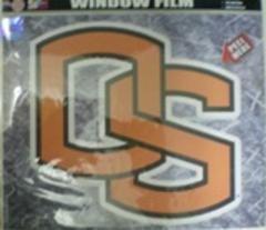 NCAA Oregon State Beavers Large Window Film, One Size, Multicolor ()