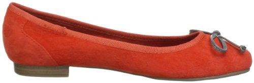 Queens HCL0301 24014 Damen Ballerinas Rot (light red 10)