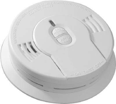 Kidde Plc 900-0136 Smoke Alarm, 10-Year Lithium Battery - Quantity 3