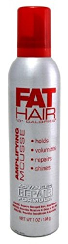 Samy Fat Hair Mousse Amplifying Advanced Repair 7oz (2 Pack) by Samy