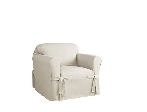 (Serta 863052 Relaxed Fit Duck Slipcover Box Chair,)
