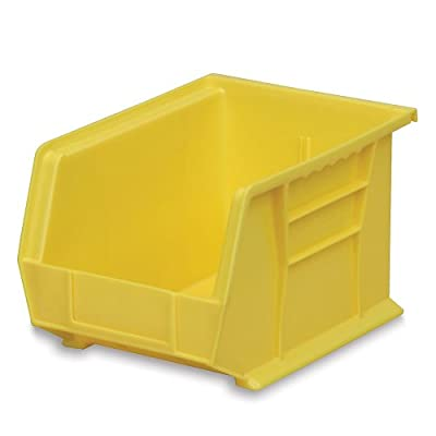 "Akro-Mils Akrobins - 8-1/4 X10-3/4 X7"" - Yellow - Lot of 6 by Akro-Mils"