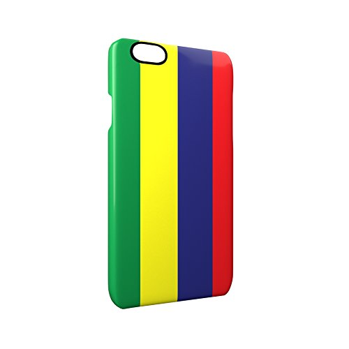 Flag of Mauritius Glossy Hard Snap-On Protective iPhone 6 / 6S Case Cover