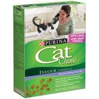 Cat Chow Purina Indoor Cat Chow Cat Food, 18 oz