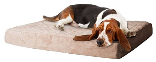 PETMAKER Memory Foam Dog Bed with Removable