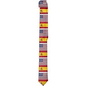 Cravatta da uomo S Skinny Tie con stampa floreale, bandiera ...
