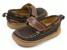 Livie & Luca Boy's North (Toddler/Little Kid) Mocha Boat Shoe 13 Little Kid M